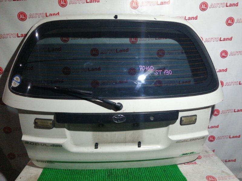 Дверь 5я Toyota Caldina ST190