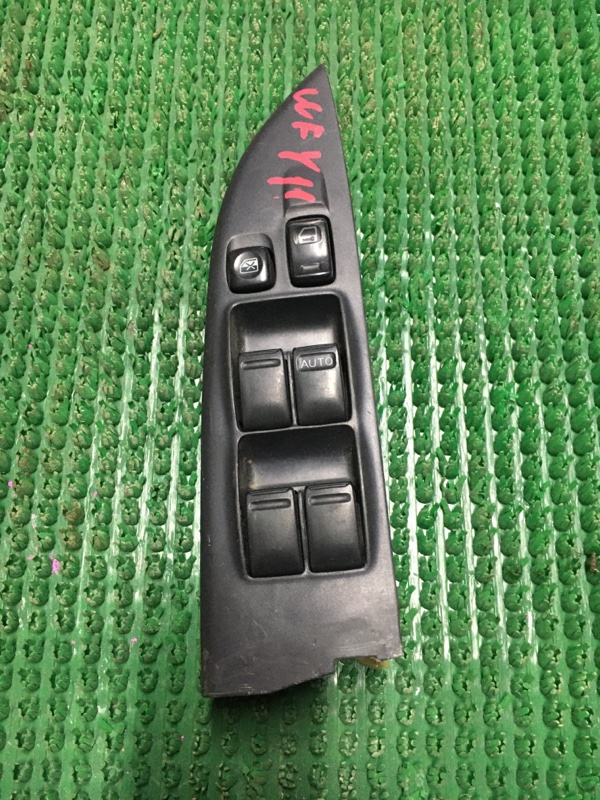 Блок управления стеклоподьемника Nissan Wingroad Y11 передний правый