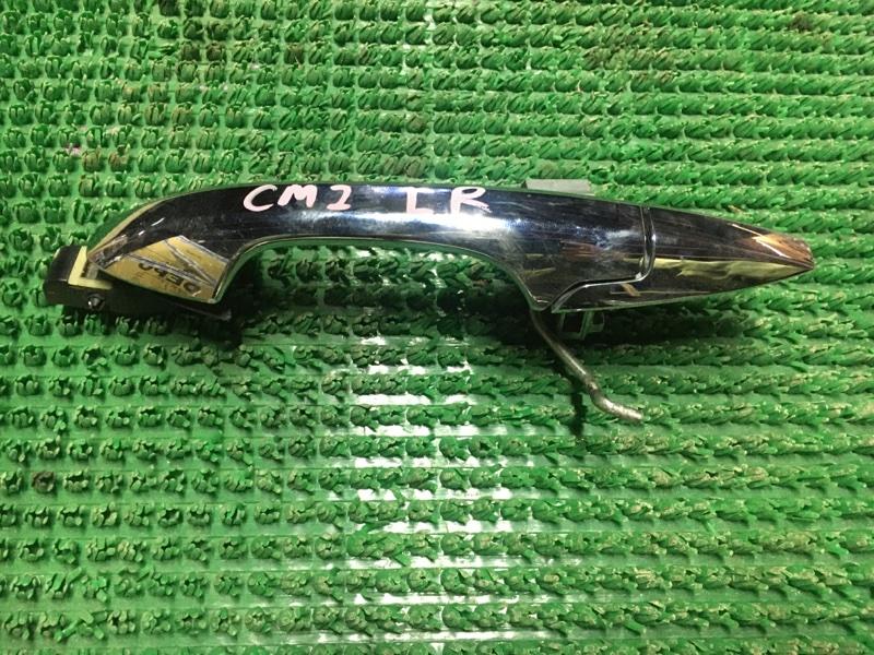 Ручка двери внешняя Honda Accord CM2 задняя левая