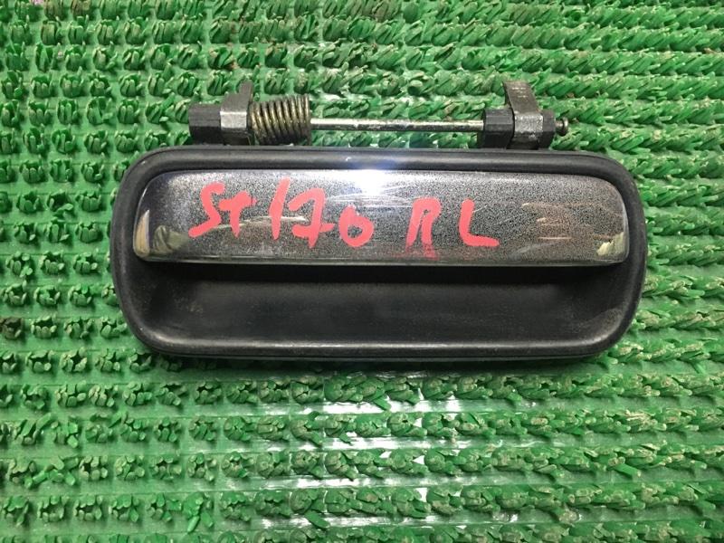 Ручка двери внешняя Toyota Corona ST170 задняя левая