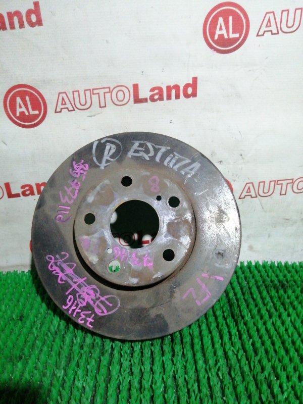 Диск тормозной Toyota Estima ACR30 2AZ FE передний левый