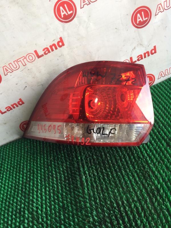Стоп-сигнал Volkswagen Golf MK5 задний левый