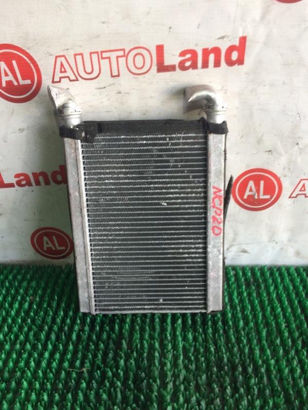 Радиатор печки Toyota Funcargo NCP21