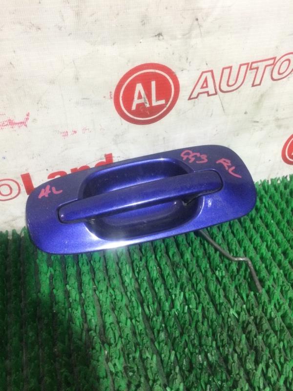 Ручка двери наружняя Subaru Impreza GG3 задняя левая