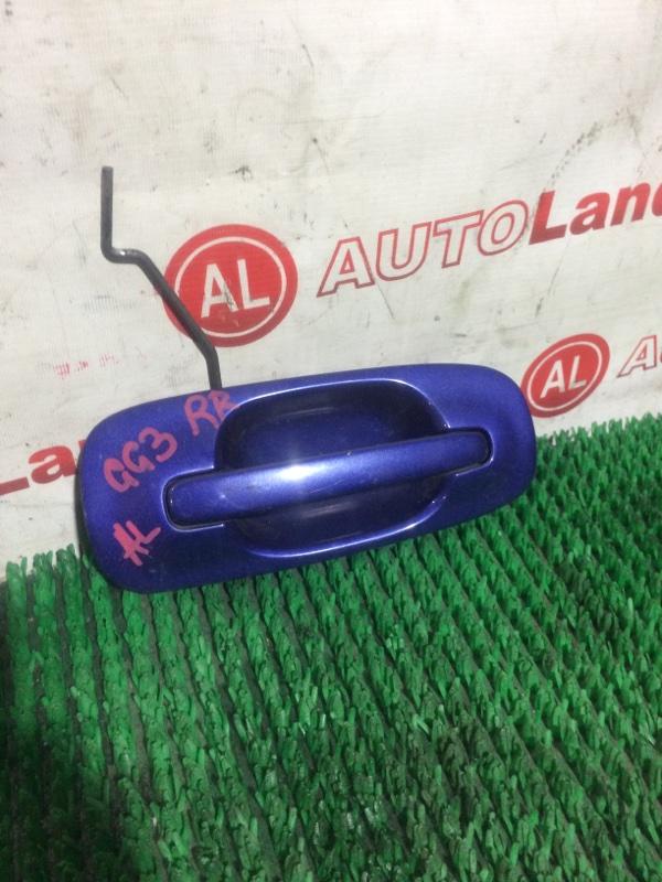 Ручка двери наружняя Subaru Impreza GG3 задняя правая