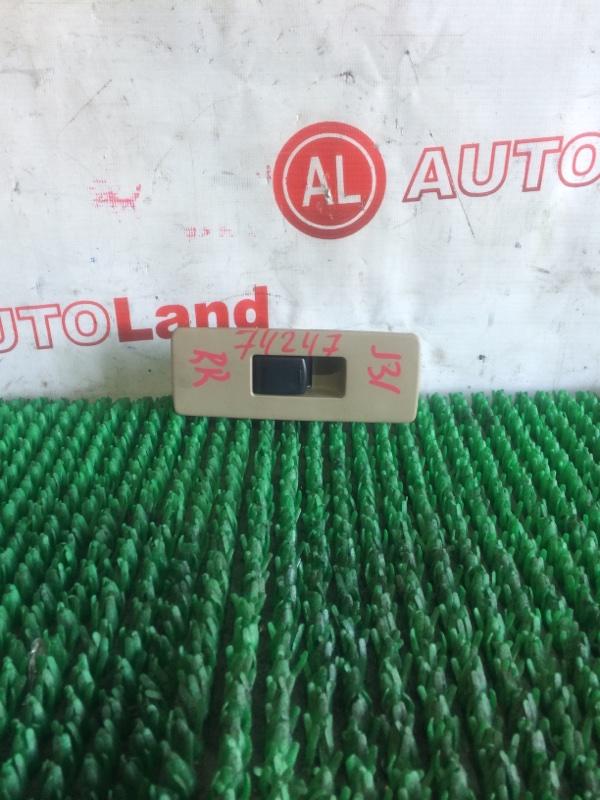 Блок управления стеклоподъемником Nissan Teana J31 задний правый