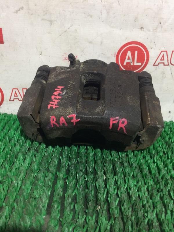 Суппорт тормозной Honda Odyssey RA7 передний правый
