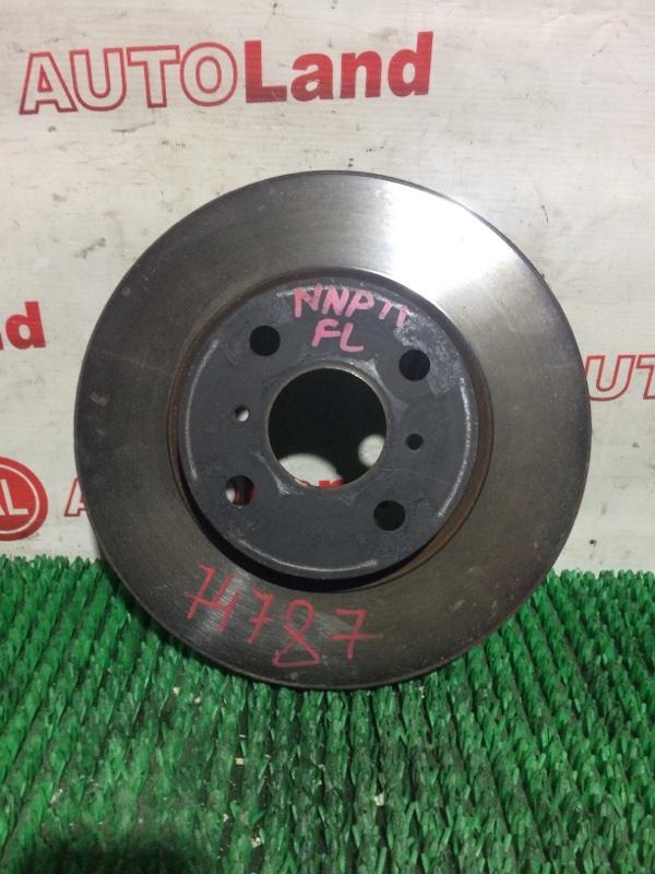 Диск тормозной Toyota Porte NNP11 передний