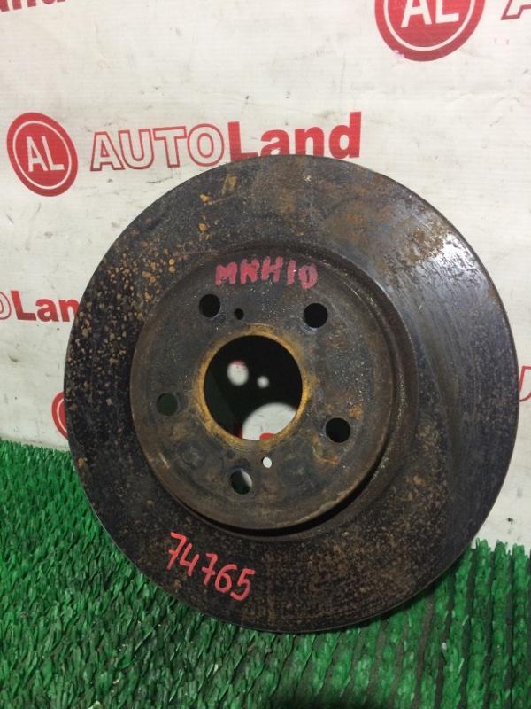 Диск тормозной Toyota Alphard MNH10 передний