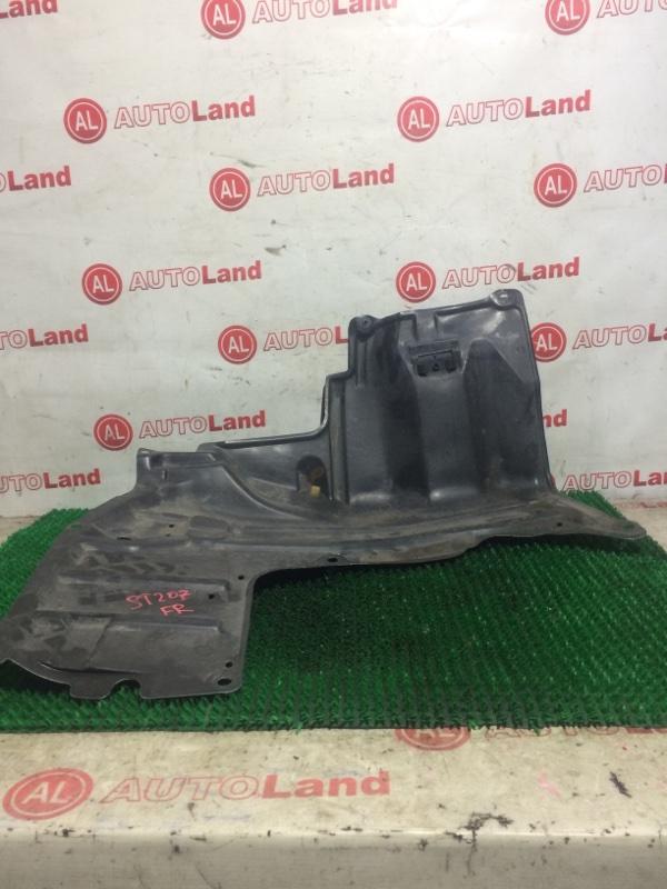 Защита двс Toyota Curen ST207 передняя правая