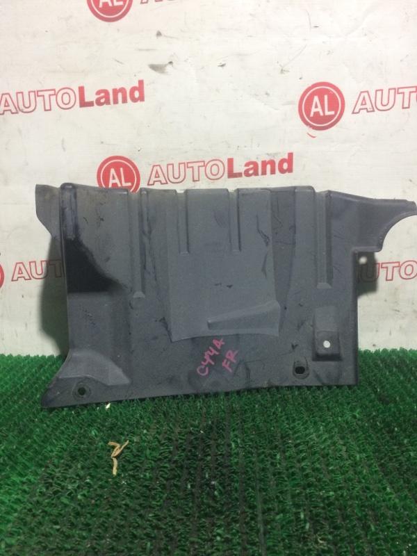 Защита двс Mitsubishi Lancer CY4A передняя левая
