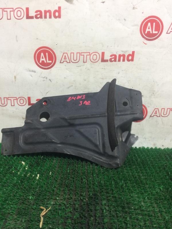 Защита двс Bmw 320 E90 задняя