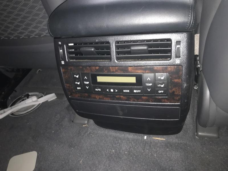 Блок управления климат-контролем Toyota Land Cruiser UZJ200 2UZ-FE 2008 задний (б/у)