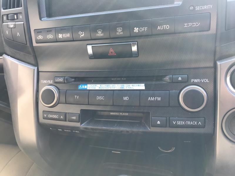 Магнитола Toyota Land Cruiser UZJ200 2UZ-FE 2008 (б/у)