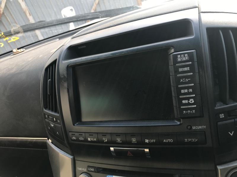 Монитор Toyota Land Cruiser UZJ200 2UZ-FE 2008 (б/у)