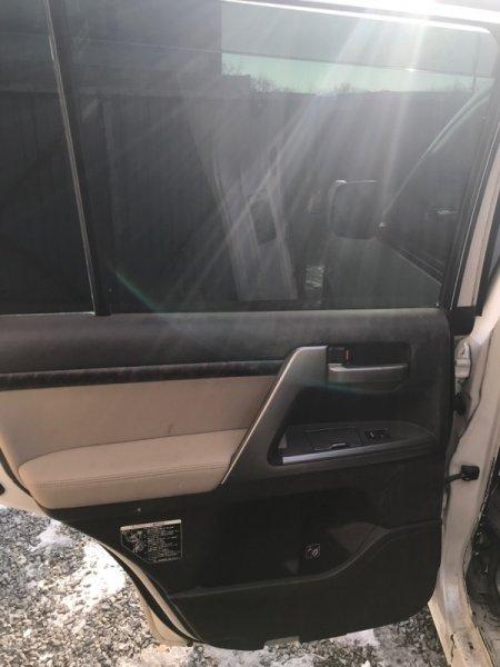 Ручка двери внутренняя Toyota Land Cruiser UZJ200 2UZ-FE 2008 задняя левая (б/у)