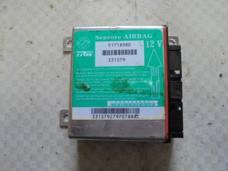 Блок управления air bag Fiat Albea 178 350A1000 2008 (б/у)