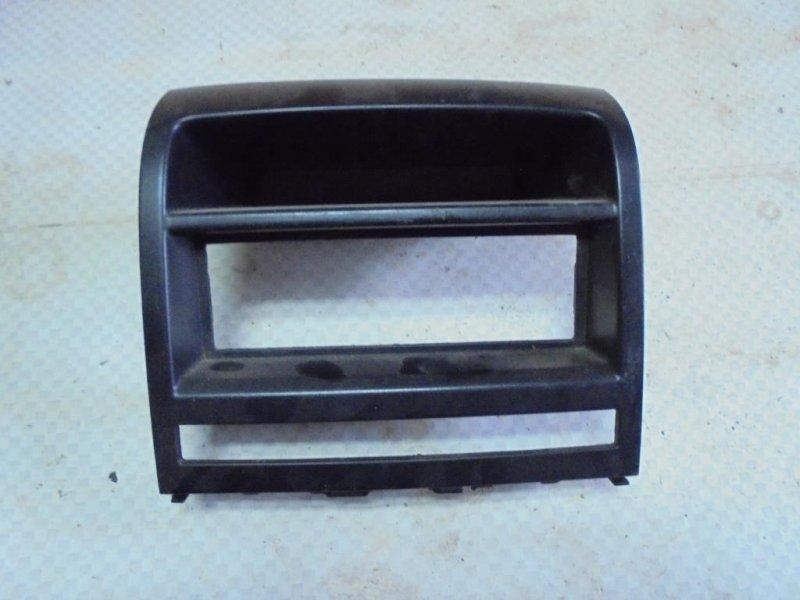 Накладка консоли центральной (рамка) Fiat Albea 178 350A1000 2008 (б/у)