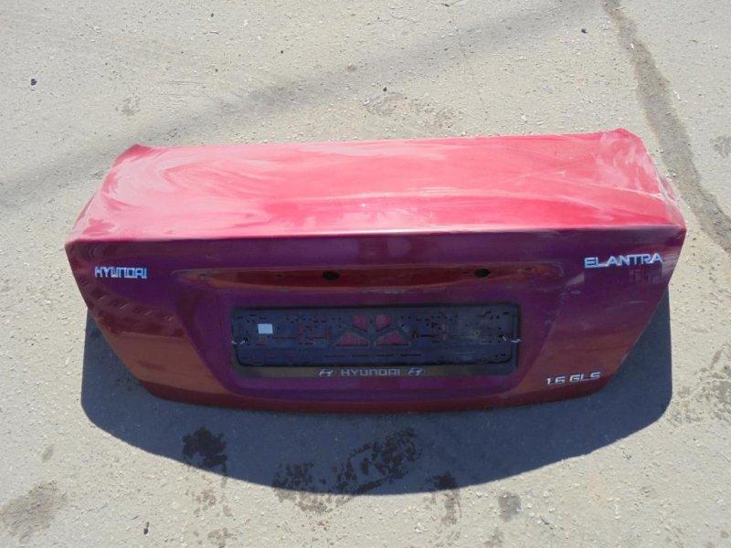 Крышка багажника Hyundai Elantra XD G4ED 2004 (б/у)