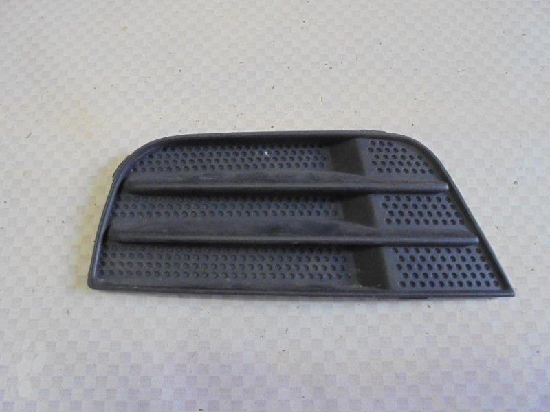 Решетка в бампер Ford Fusion CBK FXJA 2004 левая (б/у)