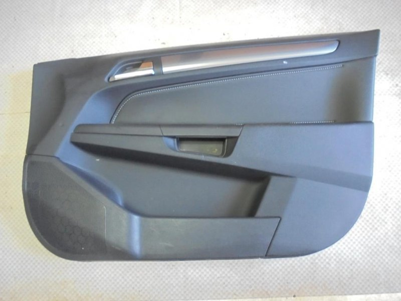 Обшивка двери Opel Astra H Z18XER 2007 передняя правая (б/у)