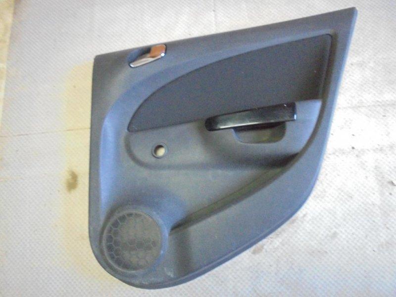 Обшивка двери Opel Corsa D Z10XEP 2006 задняя правая (б/у)