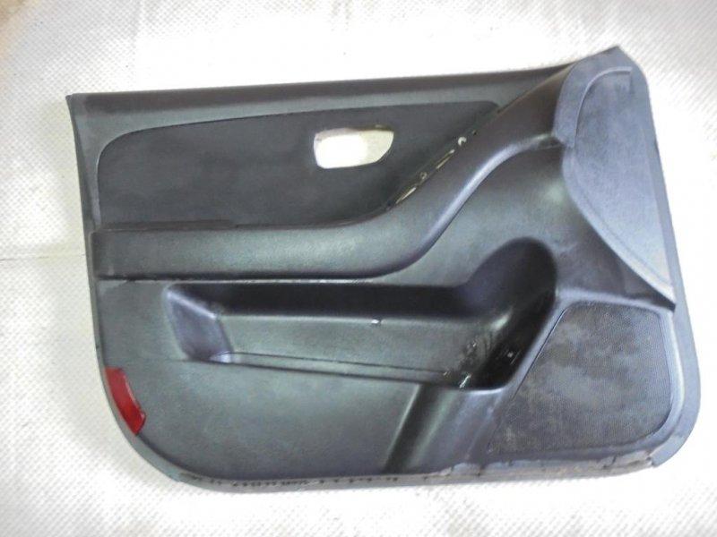 Обшивка двери Hyundai Elantra HD G4FC 2010 передняя левая (б/у)