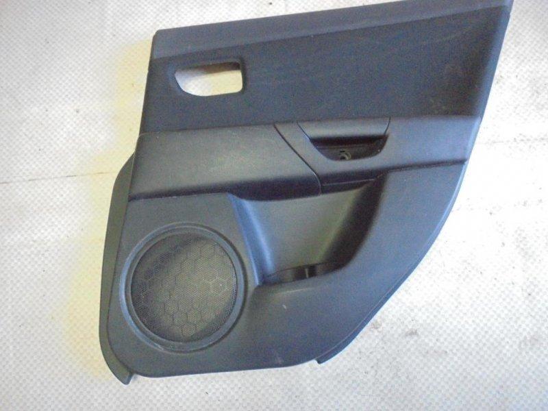Обшивка двери Mazda Mazda3 BK Z6 2006 задняя правая (б/у)