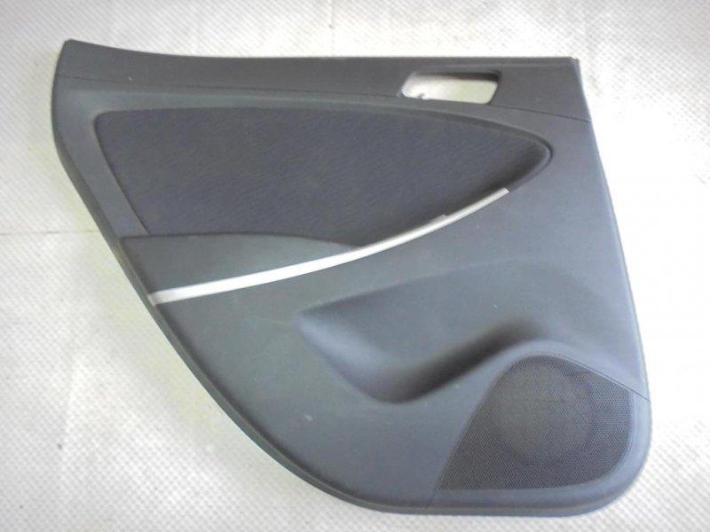 Обшивка двери Hyundai Solaris RB G4FA 2011 задняя левая (б/у)