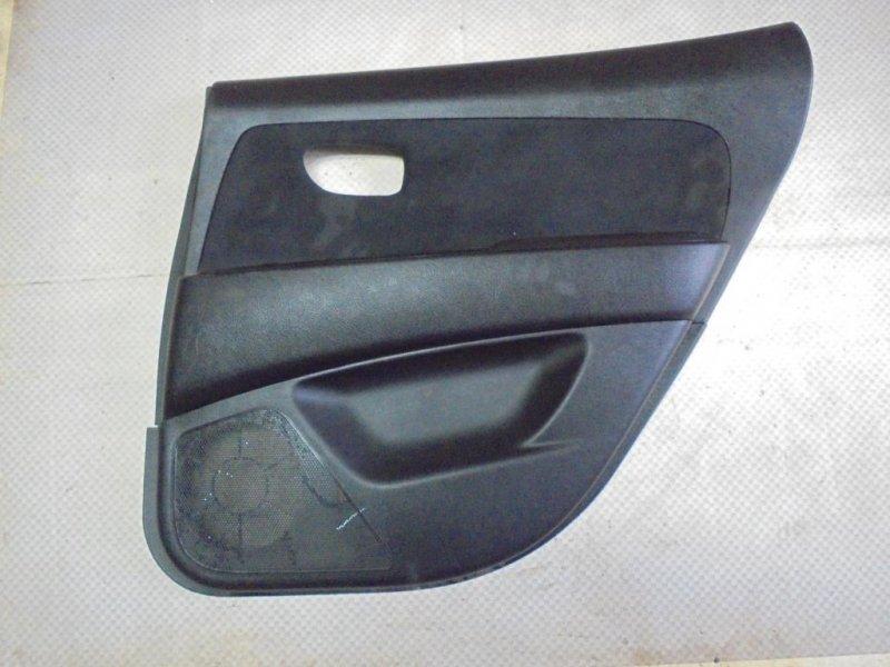 Обшивка двери Hyundai Elantra HD G4FC 2010 задняя правая (б/у)