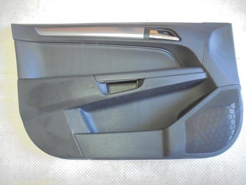 Обшивка двери Opel Astra H Z18XER 2007 передняя левая (б/у)