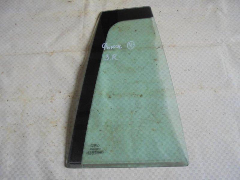Стекло двери Ford Fusion CBK FYJA 2003 заднее правое (б/у)