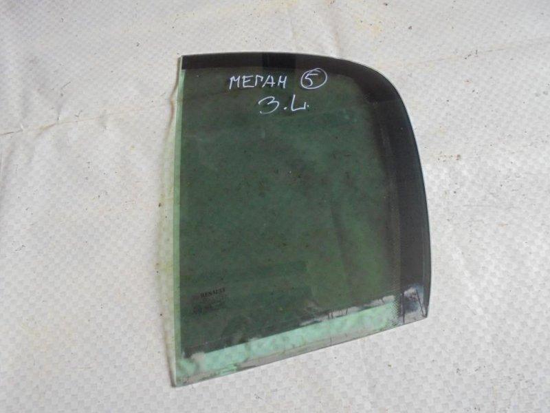 Стекло двери Renault Megane LM2Y K4M812 2007 заднее левое (б/у)