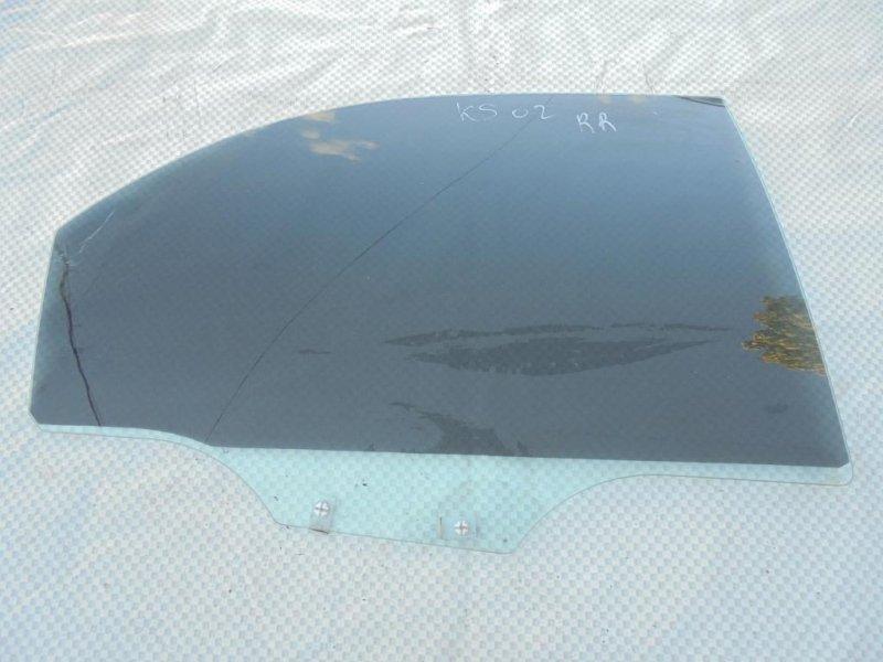 Стекло двери Kia Spectra LD S6D 2007 заднее правое (б/у)