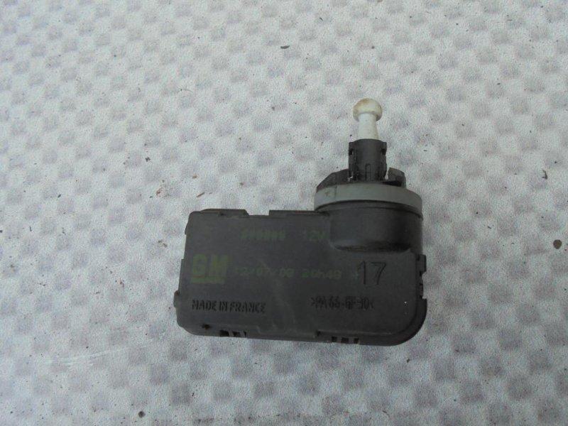 Мотор корректора фар Opel Meriva A Z16XEP 2008 (б/у)