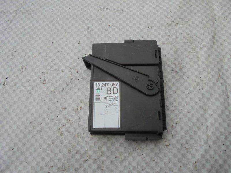 Блок электронный Opel Meriva A Z16XEP 2008 (б/у)