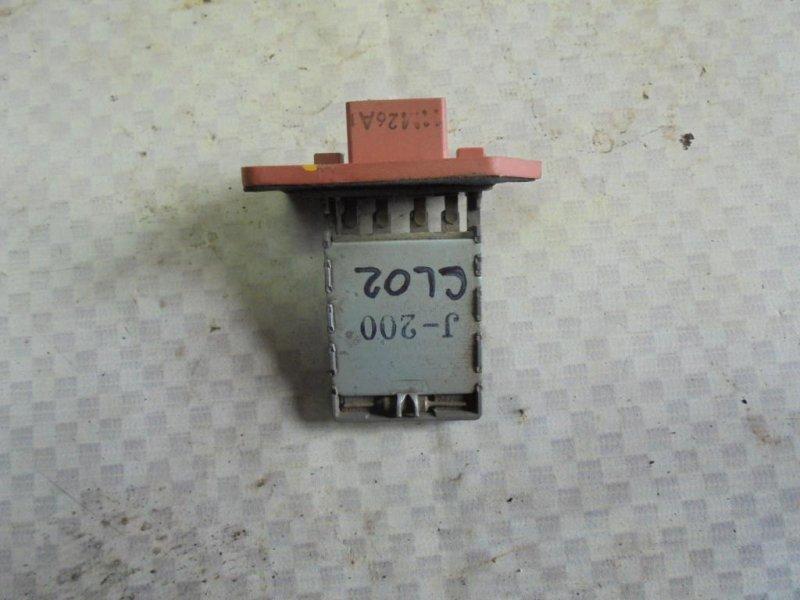 Резистор отопителя Chevrolet Lacetti J200 F14D3 2012 (б/у)