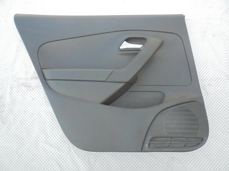 Обшивка двери Volkswagen Polo 612 CFN 2013 задняя левая (б/у)