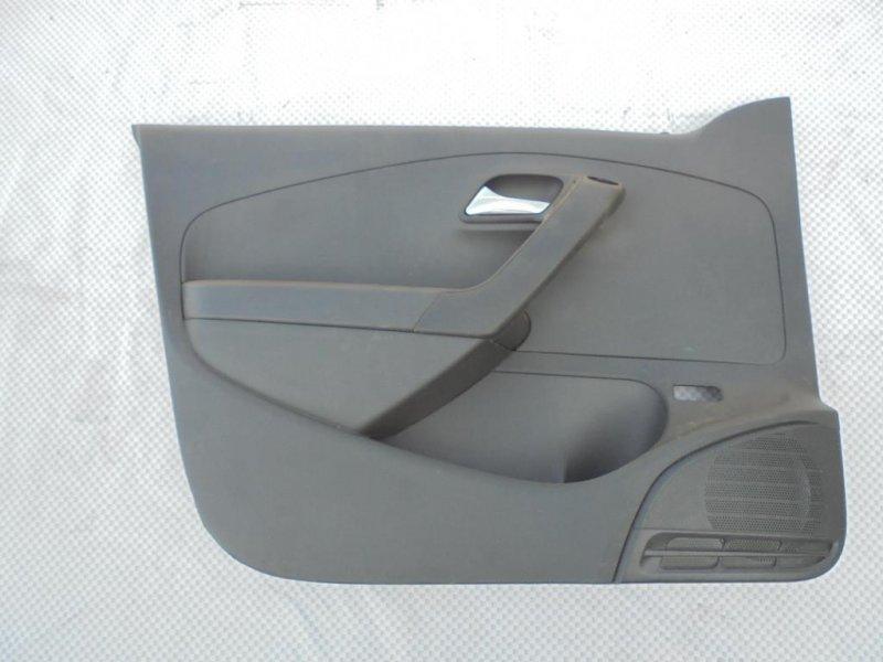 Обшивка двери Volkswagen Polo 612 CFN 2013 передняя левая (б/у)