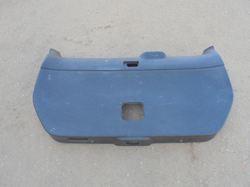 Обшивка крышки багажника Nissan X-Trail T31 MR20DE 2011 (б/у)