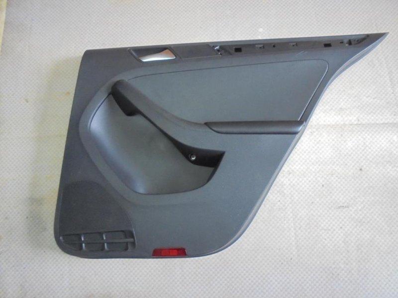 Обшивка двери Volkswagen Jetta 162 CLR 2012 задняя правая (б/у)