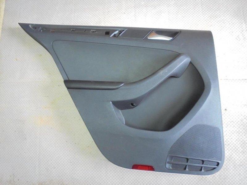 Обшивка двери Volkswagen Jetta 162 CLR 2012 задняя левая (б/у)