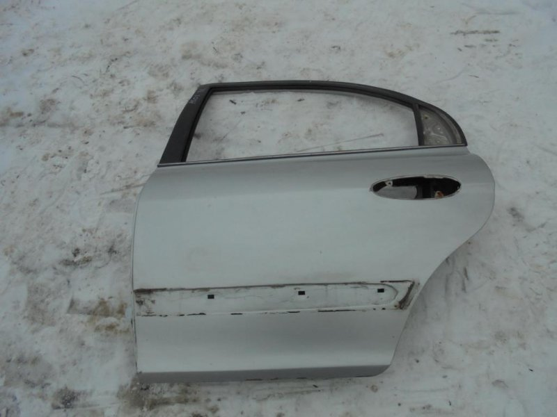 Дверь Hyundai Sonata EF G4JS 2002 задняя левая (б/у)