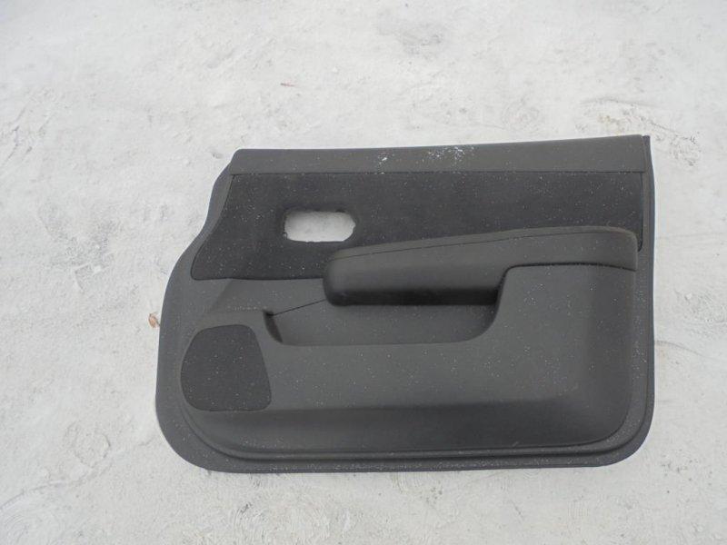 Обшивка двери Nissan Tiida C11 HR16DE 2008 передняя правая (б/у)