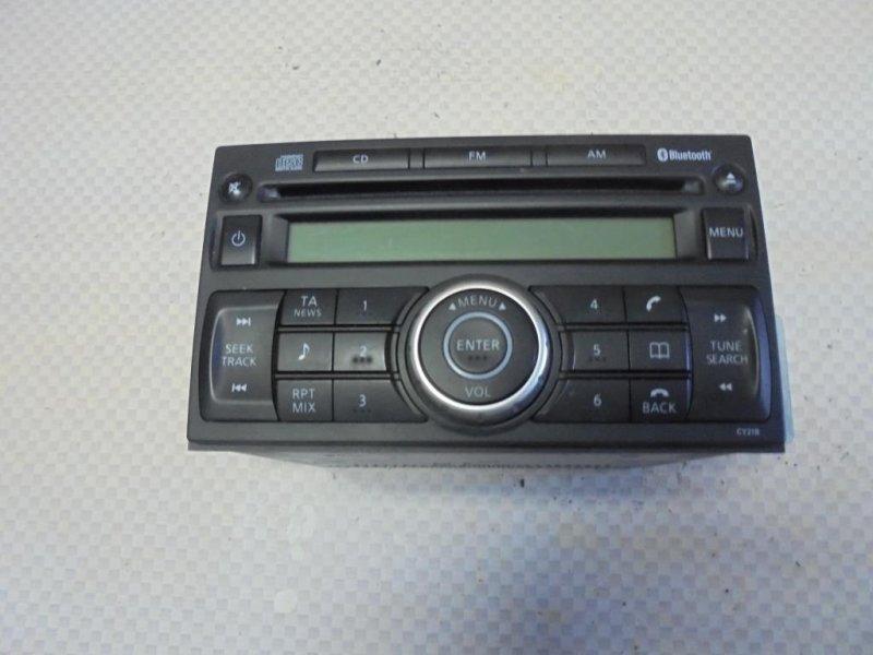 Магнитола Nissan Tiida C11 HR16DE 2008 (б/у)