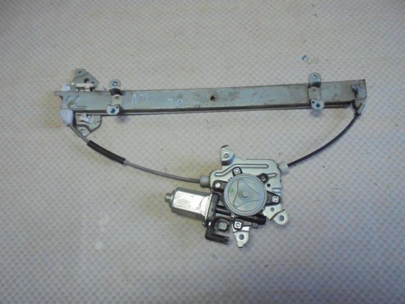 Стеклоподъемник Nissan Tiida C11 HR16DE 2008 передний правый (б/у)