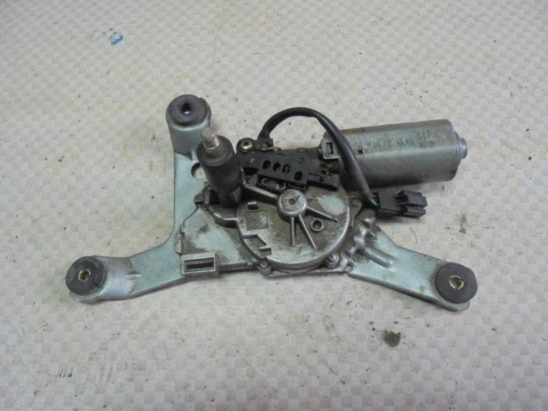 Мотор стеклоочистителя Mitsubishi Carisma DA2A 4G93 1998 задний (б/у)