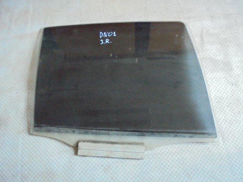 Стекло двери Daewoo Nexia KLETN A15MF 2007 заднее правое (б/у)