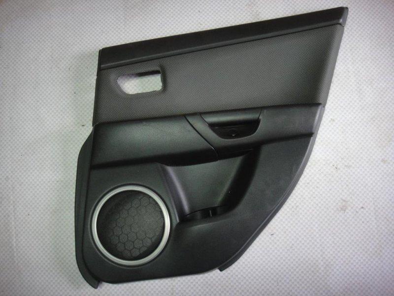 Обшивка двери Mazda Mazda3 BK LF 2006 задняя левая (б/у)