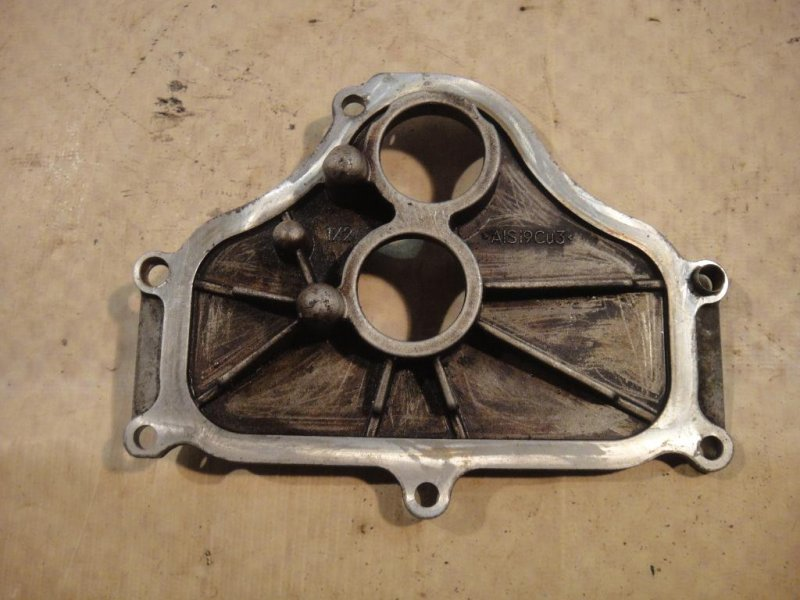 Крышка двигателя Bmw X6 E71 N63B44 передняя левая (б/у)